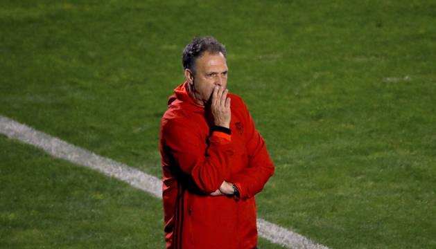 Joaquín Caparrós, técnico de Osasuna.