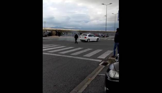 Carreras ilegales en la Comarca de Pamplona