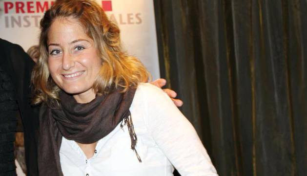 Elena Chávarri, pamplonesa con espina bífida: