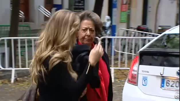 Rita Barberá declara por un presunto delito de blanqueo de capitales