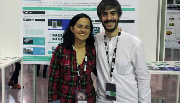 Laura Moreno y Jaiver Sánchez, creadores de la guía de estimulación cognitiva.