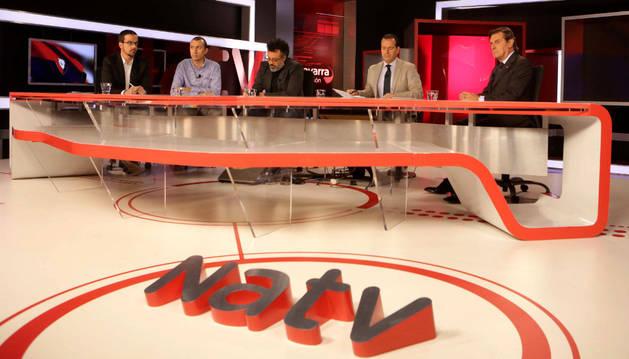 Una entrevista en Navarra Televisión.