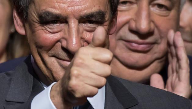 Foto del candidato François Fillon.