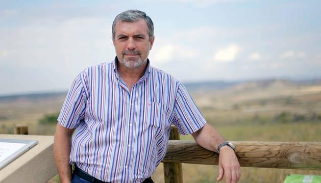 Julián Isla, presidente de la Comunidad de Bardenas