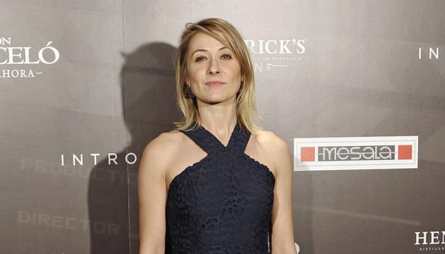 La actriz Nathalie Poza.