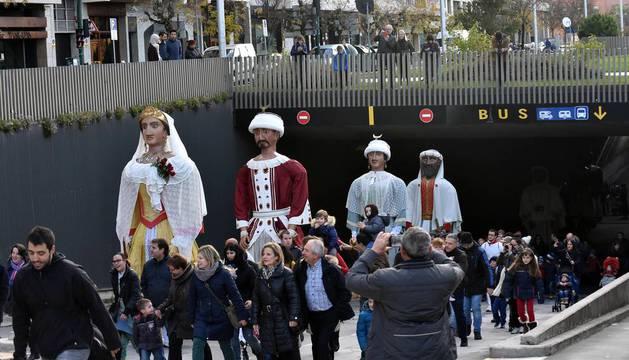 Pamplona celebra la festividad de su patrón