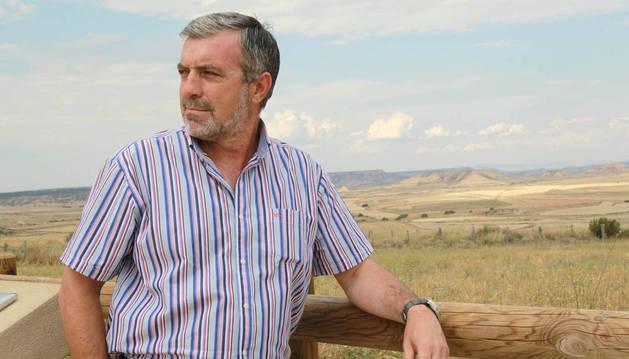Consternación en la Ribera por la muerte del presidente de Bardenas, Julián Isla