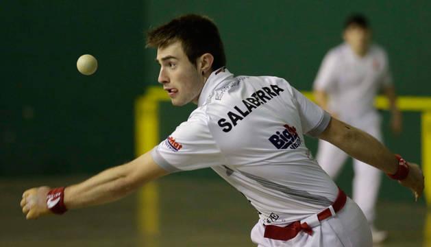 Salaberria, vigente campeón del Memorial, venció sin apuros a Aizkorbe.