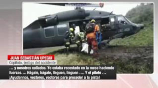 Estremecedor relato del accidente del Chapecoense por un copiloto de Avianca