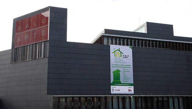 Imagen del edificio de Baluarte.