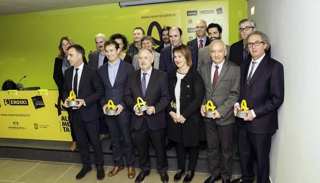 Entrega de los I Premios Alimenta Navarra