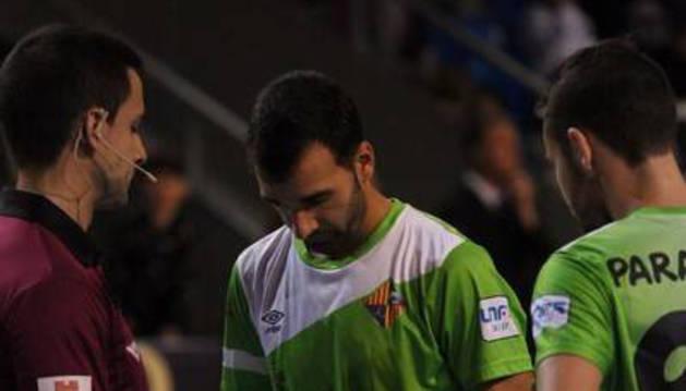 Imagen de Carlitos, en un partido anterior con el Palma.