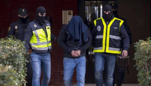 Detención de un yihadista vinculado al Daesh en Aranjuez.