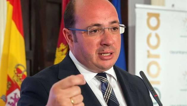 El presidente del Gobierno de Murcia, Pedro Antonio Sánchez.