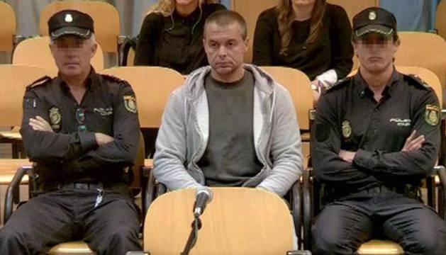 Antonio Ortiz, el presunto pederasta de Ciudad Lineal, durante el juicio.