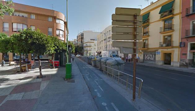 Una calle del centro de Sevilla.