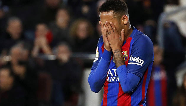 Neymar no jugará en El Sadar