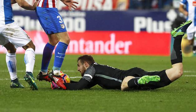 Oblak salva al Atlético (1-1)
