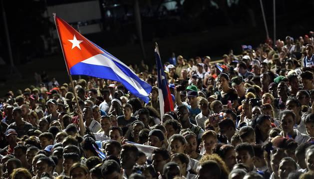Último acto masivo para despedir a Fidel Castro