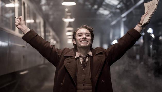 Imagen de la película 'El editor de libros'.