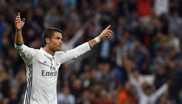 Cristiano Ronaldo, en un partido.