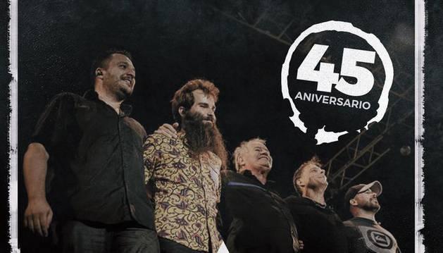 Asfalto inicia su gira 45 aniversario con El Drogas, Kutxi Romero y Aurora Beltrán