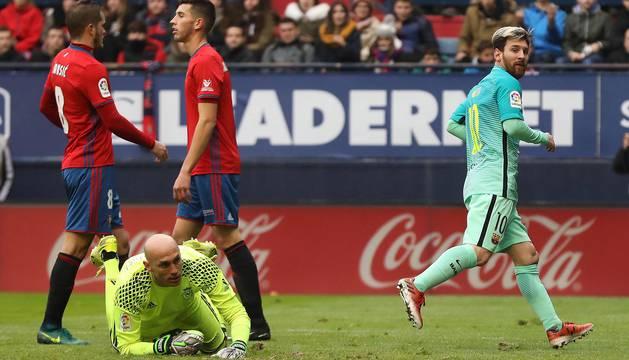 Osasuna 0-3 Barcelona (I)