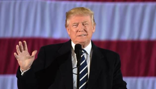 El presidente electo de Estados Unidos Donald Trump.