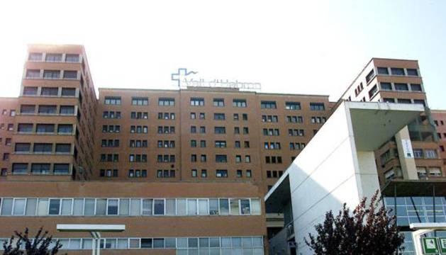 Fachada del hospital Vall d'Hebron.