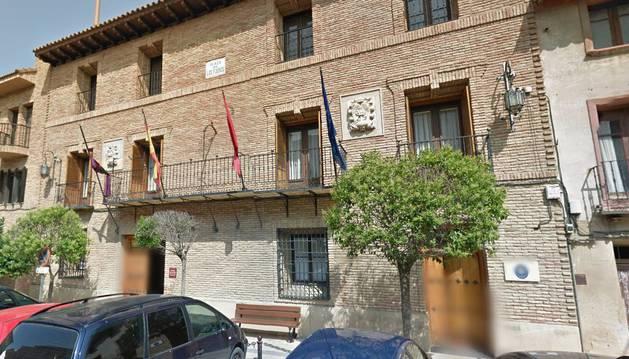 Fachada del Ayuntamiento de Cintruénigo.