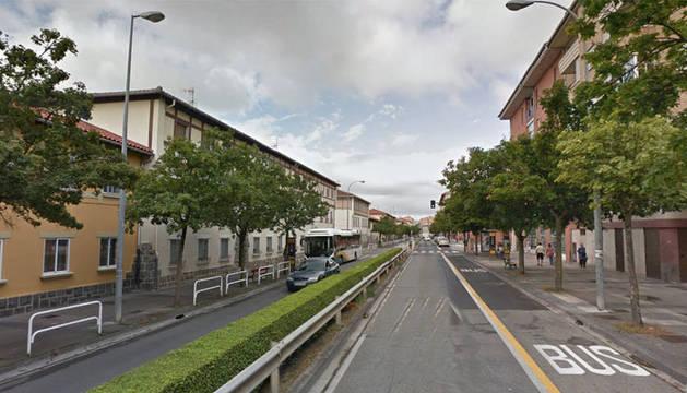 Detenida tras salirse de la vía en la avenida Villava y dar positivo en alcoholemia