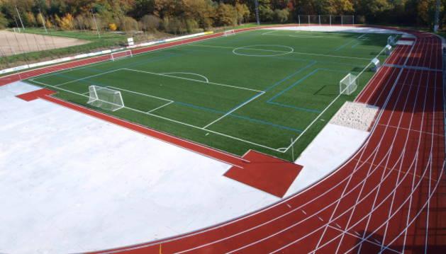 Campo de fútbol de Alsasua.