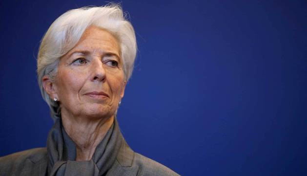 La directora-gerente del Fondo Monetario Internacional (FMI), Christine Lagarde.