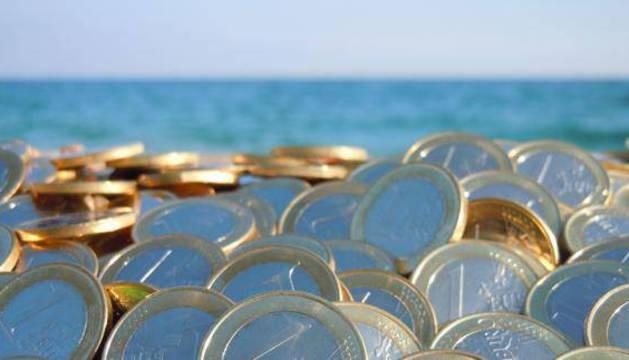 Un montón de monedas.