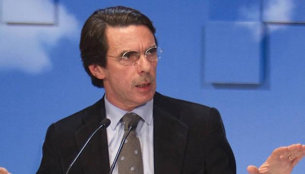 Foto de archivo del expresidente del Gobierno José María Aznar.