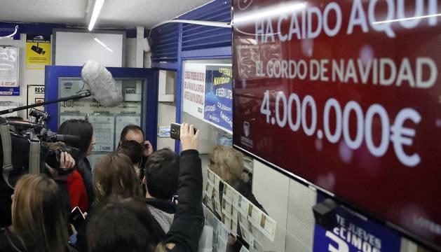 El Gordo de la Lotería de Navidad ha sido vendido íntegramente en la administración situada en el Paseo de la Esperanza, número 4, en Madrid.