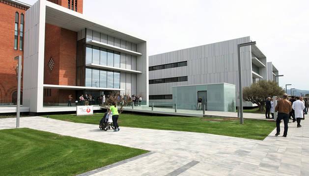 Imagen de la vista exterior de las nuevas instalaciones del Hospital San Juan de Dios.