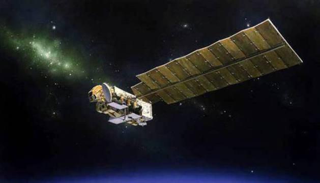 Un satélite espacial.