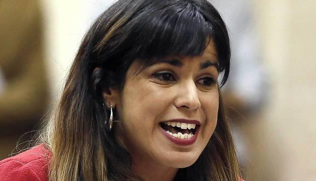 Teresa Rodríguez, líder de Podemos Andalucía.