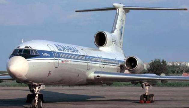 Un Tupolev-154, el modelo del avión siniestrado.