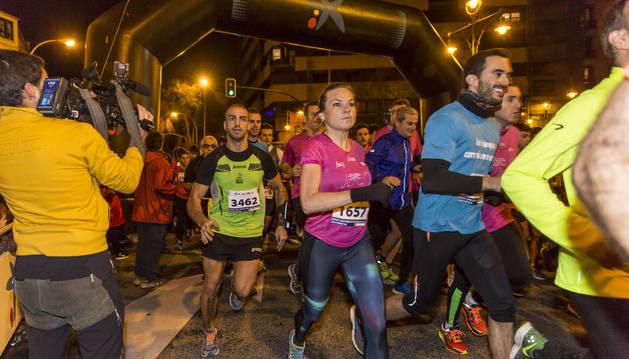 Imagen de la edición de la San Silvestre de Pamplona en 2015