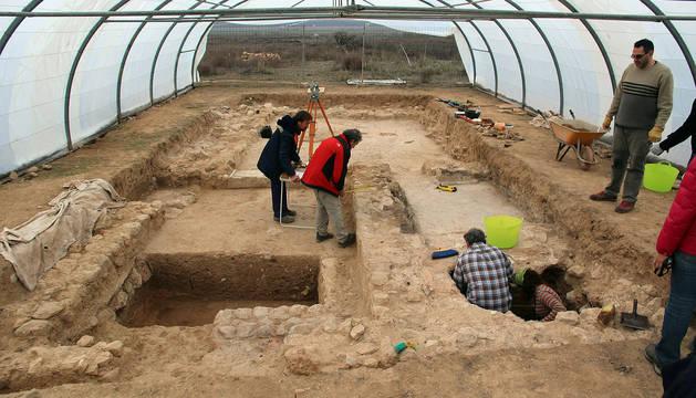 Final de excavaciones en la villa romana de Ablitas
