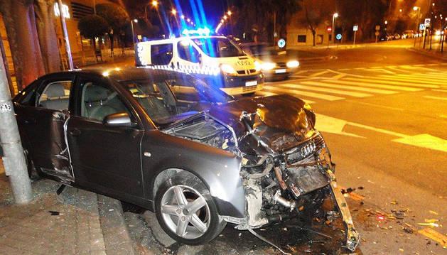 Atendidos 14 accidentes de tráfico en Pamplona el fin de semana de Nochebuena