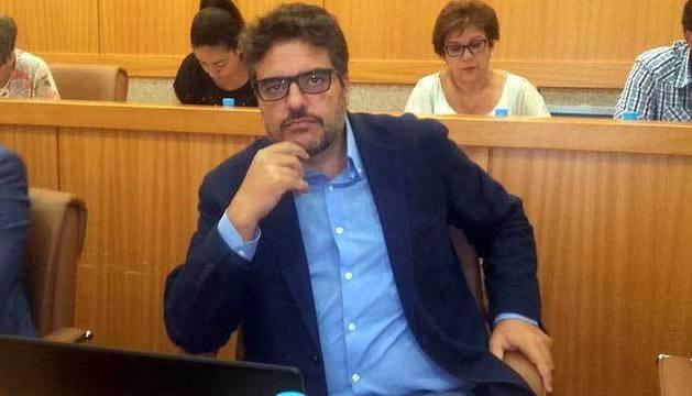 El concejal de Ganemos en Talavera Miguel Ángel Sánchez.
