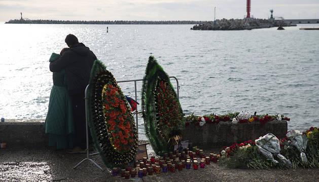 Hallan el fuselaje del avión ruso siniestrado en el mar Negro