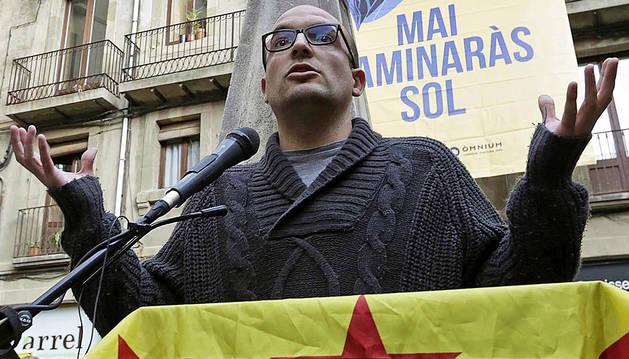 Los Mossos detienen al concejal de la CUP en Vic Joan Coma