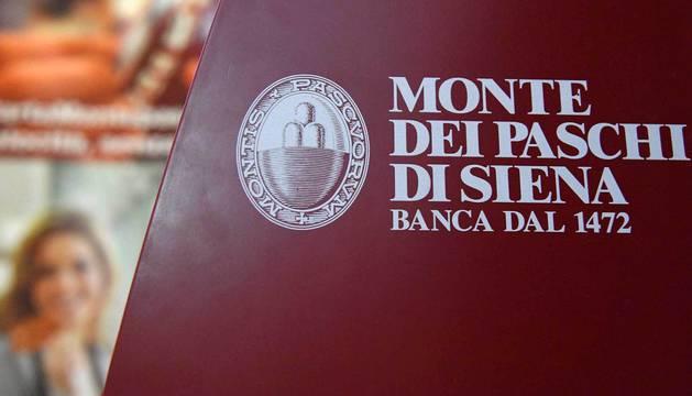 Logotipo de la Banca Monte dei Paschi di Siena.