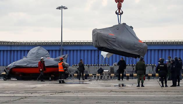 Halladas las cajas negras del avión ruso siniestrado en el mar Negro