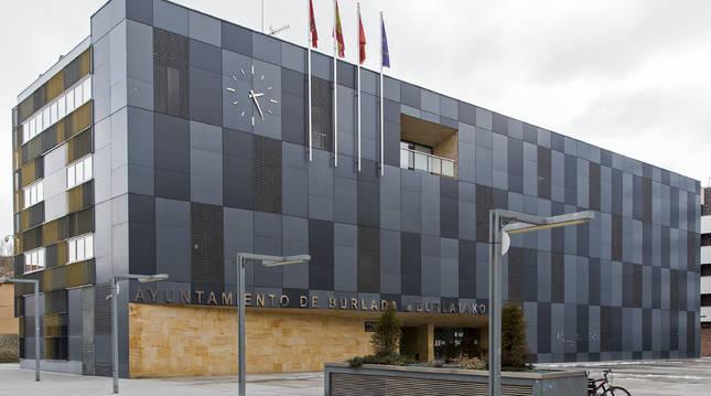 Ayuntamiento de Burlada.