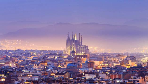 Vista aérea de Barcelona, una de las ciudades donde se cometieron los robos.